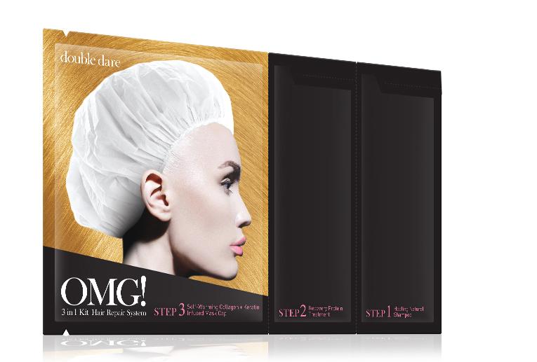 Double Dare OMG! Маска трехкомпонентная для восстановления волос 3IN1 KIT HAIR REPAIR SYSTEM