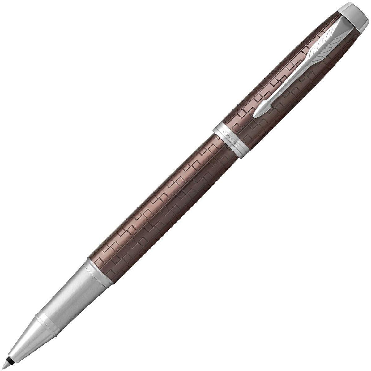 Parker Ручка-роллер IM Premium Brown CT черная