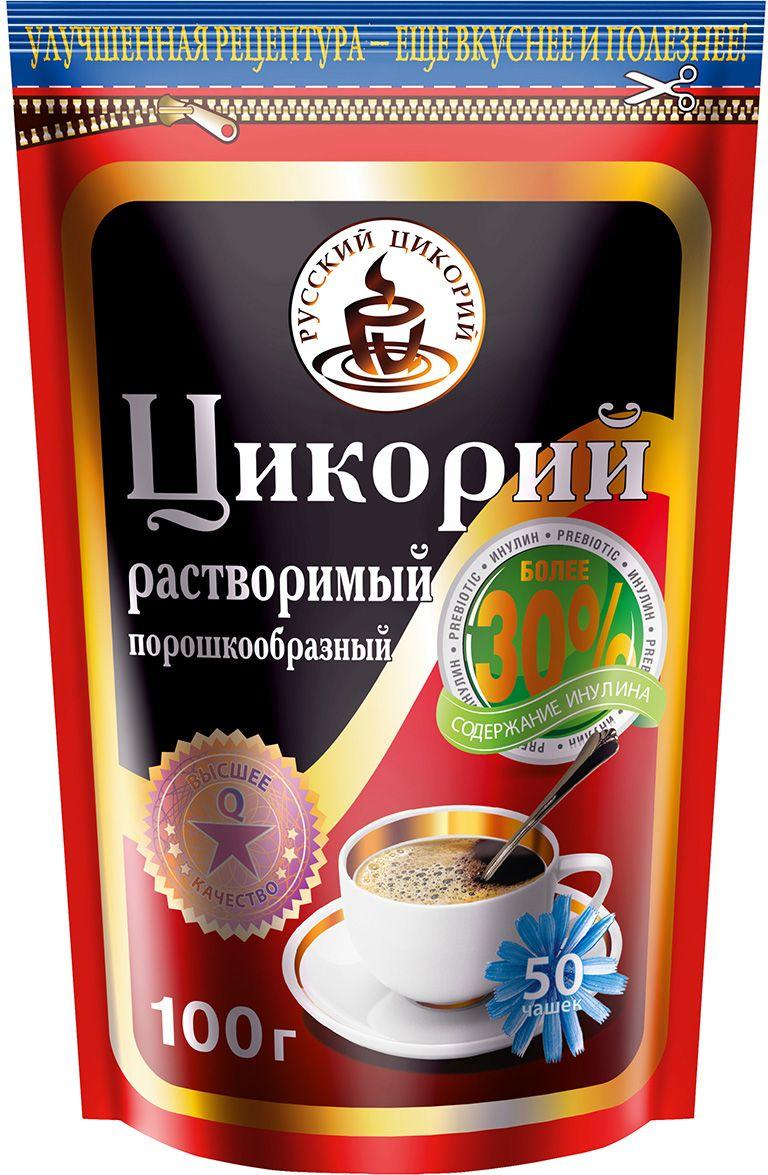 цены на Русский цикорий цикорий растворимый дой-пак, 100 г  в интернет-магазинах