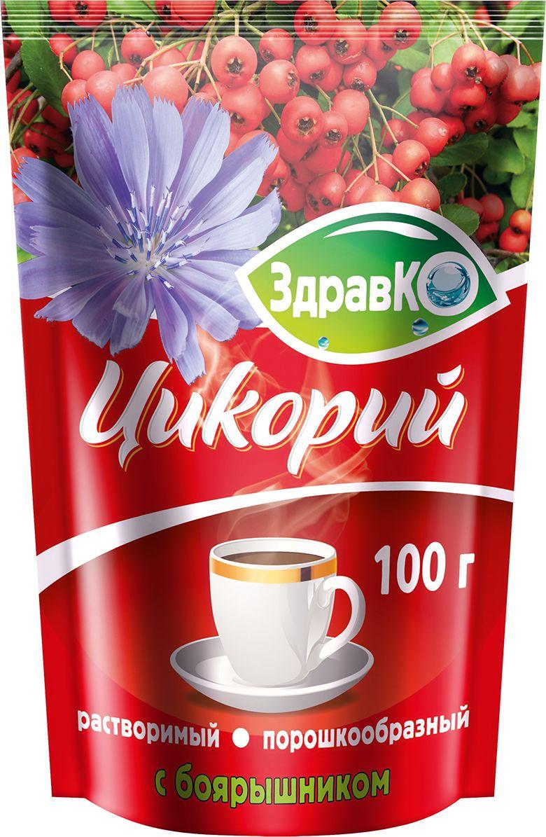 цены на ЗдравКо цикорий растворимый c боярышником, 100 г  в интернет-магазинах