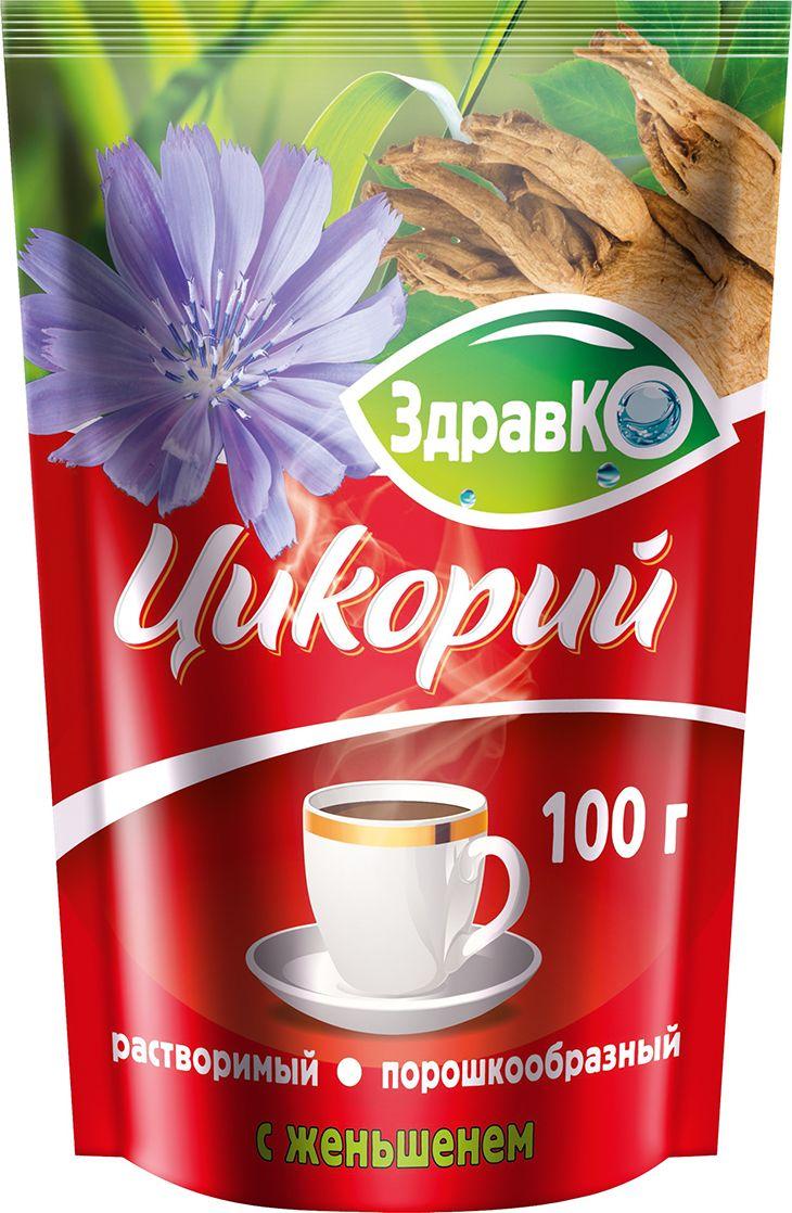 цены на ЗдравКо цикорий растворимый c женьшенем, 100 г  в интернет-магазинах