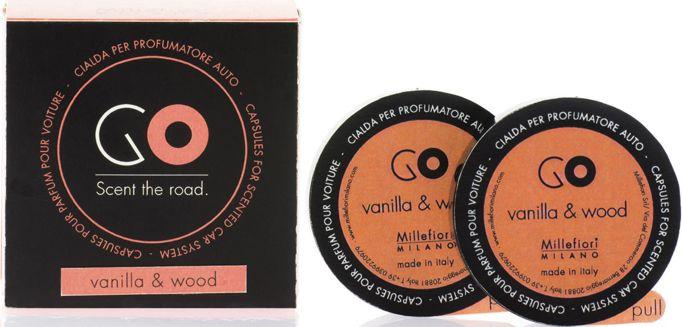 """Картридж сменный Millefiori Milano GO Refill """"Ваниль и дерево / Vanilla & Wood"""", 2 капсулы"""