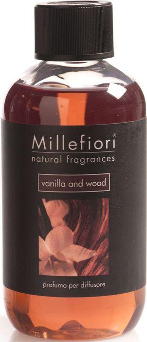 Сменный блок Millefiori Milano Natural Refill Ваниль и дерево / Vanilla & Wood, 250 мл диффузор ароматический millefiori milano via brera сандаловое дерево с палочками 250 мл