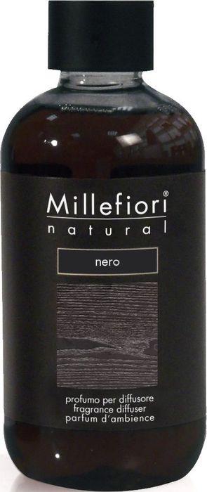 Сменный блок Millefiori Milano Natural Refill Черный / Nero, 250 мл ароматизатор millefiori milano natural яблоко и корица сменный блок 250 мл