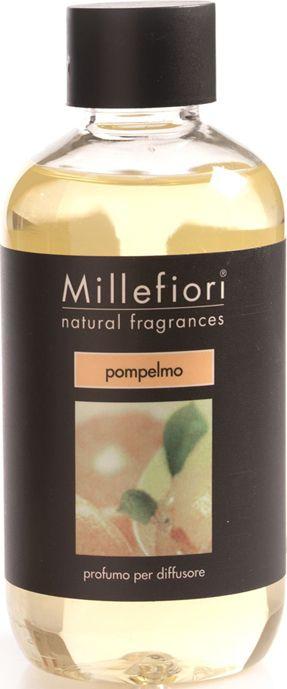 Сменный блок Millefiori Milano Natural Refill Грейпфрут / Pompelmo, 250 мл ароматизатор millefiori milano natural яблоко и корица сменный блок 250 мл