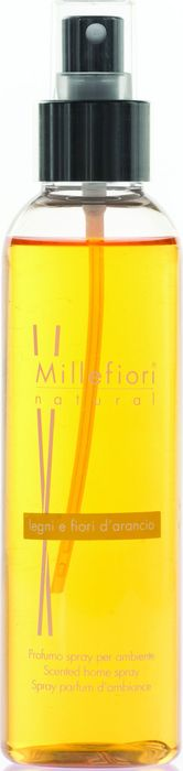Духи-спрей для дома Millefiori Milano Natural Лес и полевые цветы / Legni E Fiori D'Arancio, 150 мл ароматизатор millefiori milano natural цветы магнолии и дерево 150 мл
