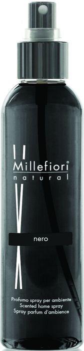 Духи-спрей для дома Millefiori Milano Natural Черный / Nero, 150 мл ароматизатор millefiori milano natural цветы магнолии и дерево 150 мл