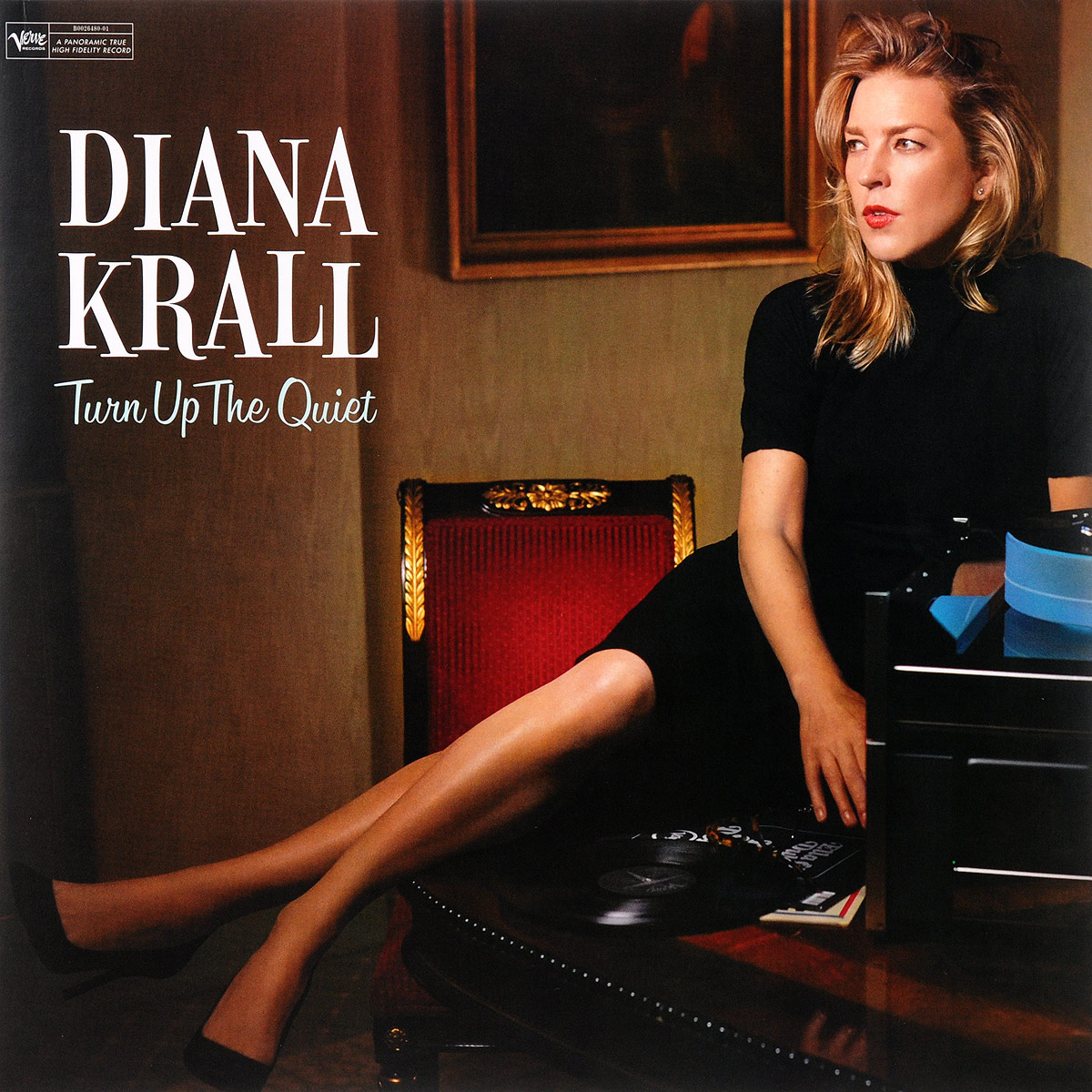 Дайана Кролл Diana Krall. Turn Up The Quiet (2 LP) цена