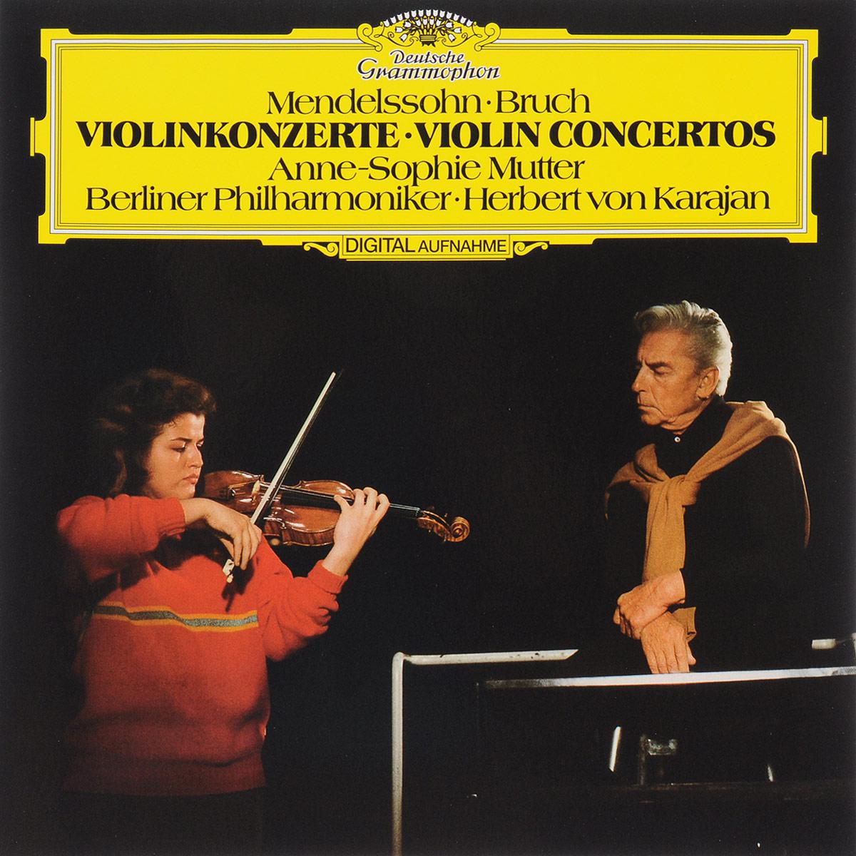 лучшая цена Герберт Караян,Berliner Philharmoniker Herbert Von Karajan. Mendelssohn / Bruch. Violin Concertos (LP)