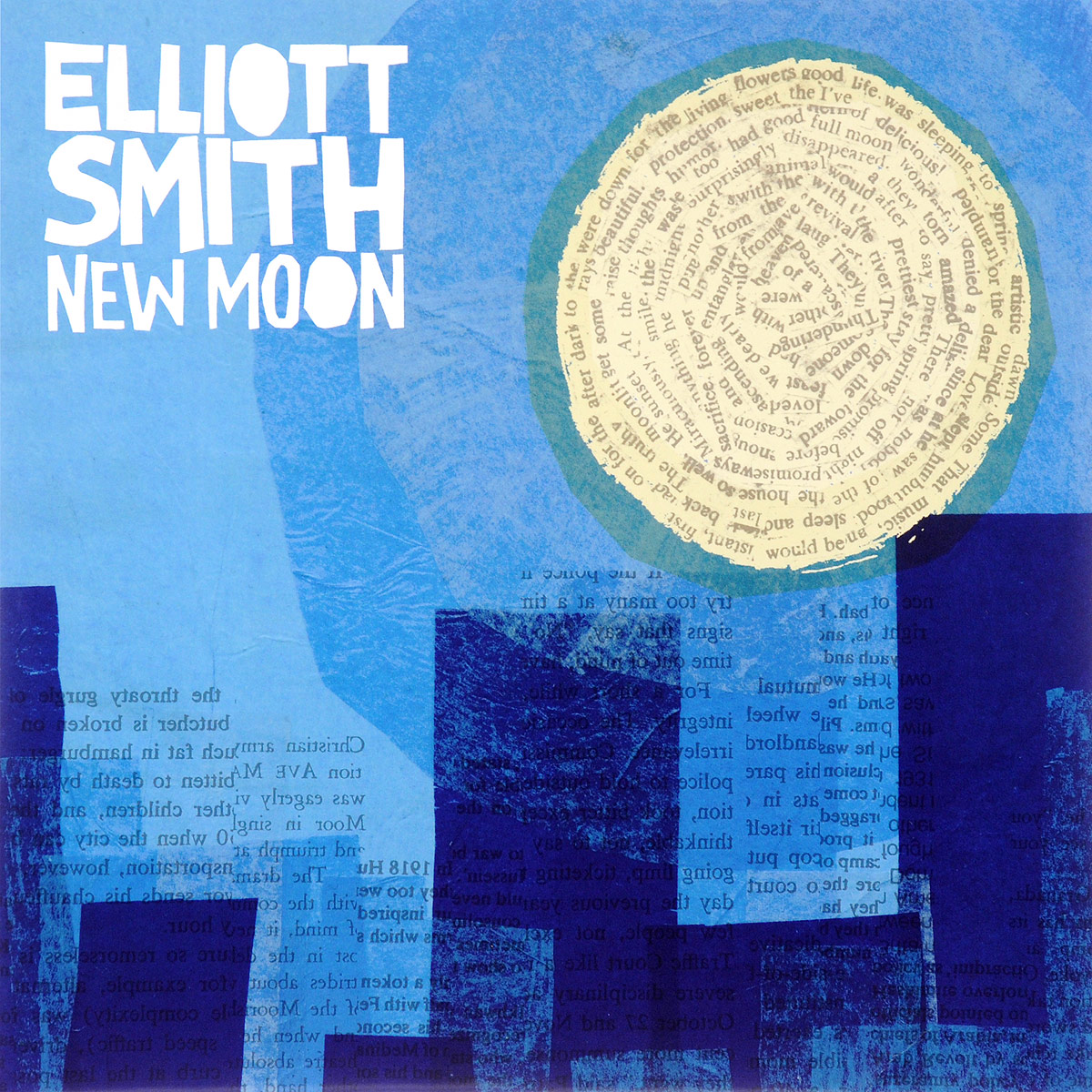 Эллиот Смит Elliott Smith. New Moon (2 LP) elliott smith elliott smith from a basement on the hill 2 lp