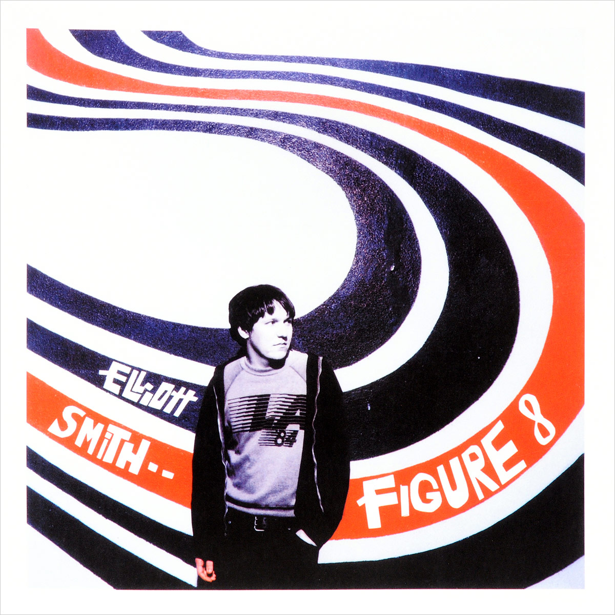 Фото - Эллиот Смит Elliott Smith. Figure 8 (2 LP) 4 hook figure rack