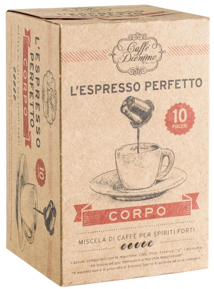 Diemme Caffe Corpo кофе в капсулах, 10 шт diemme como kudu reverse baltic