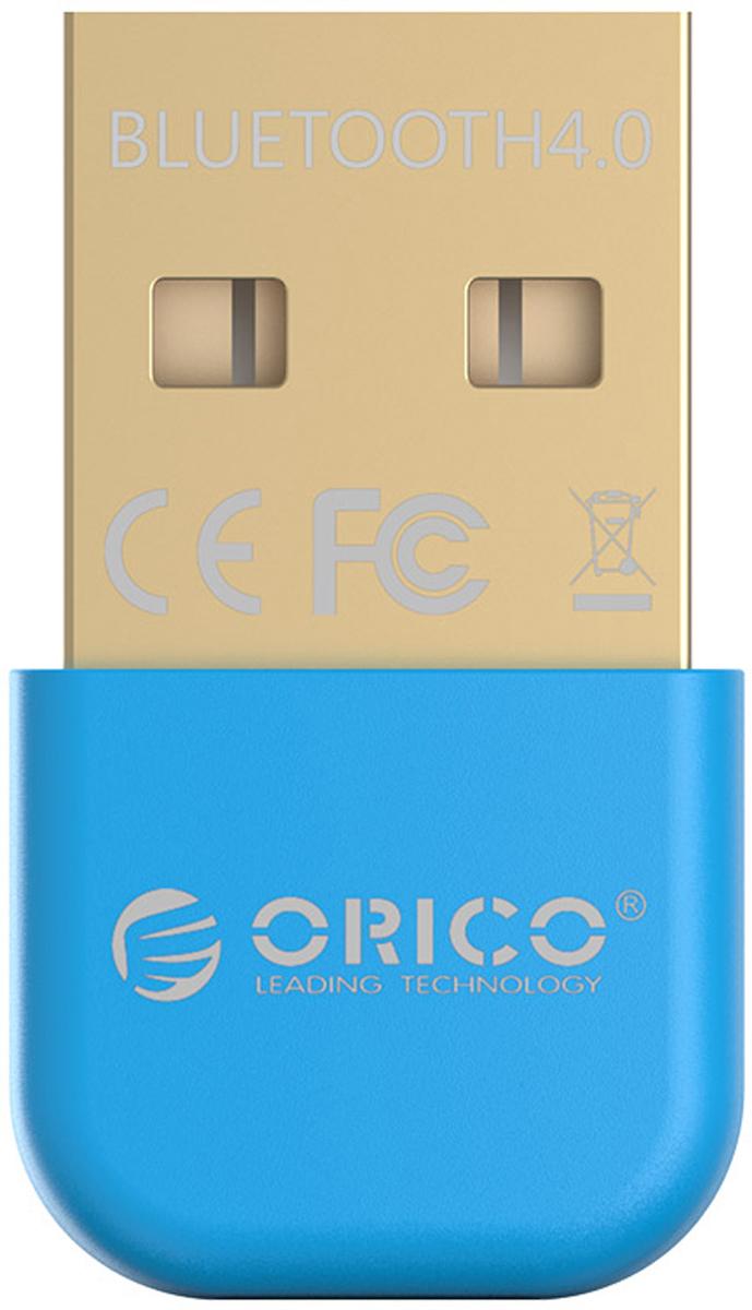 Фото - Orico BTA-403, Blue Bluetooth адаптер bluetooth передатчик orico bta 403 bk black