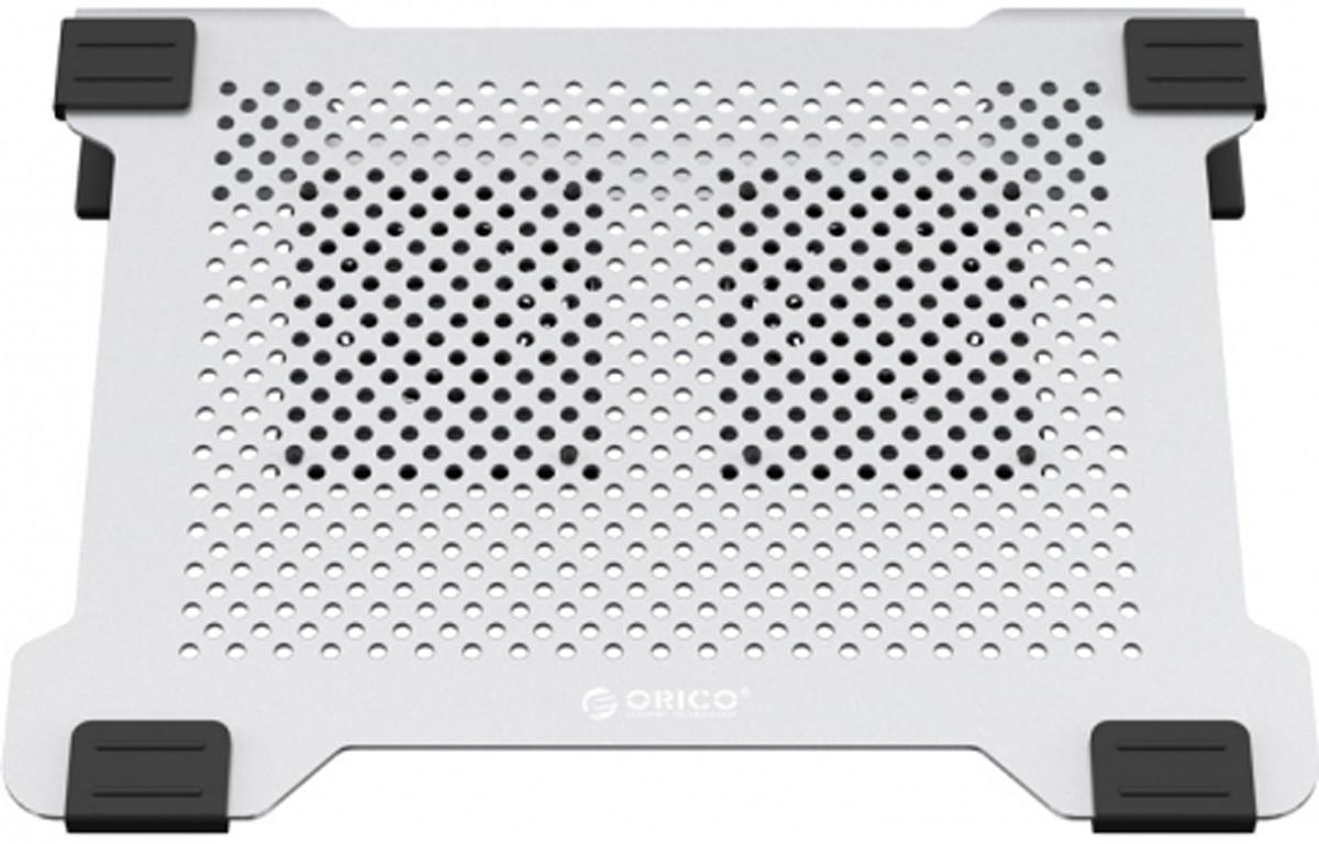 Orico NA15, Silver охлаждающая подставка для ноутбука цена