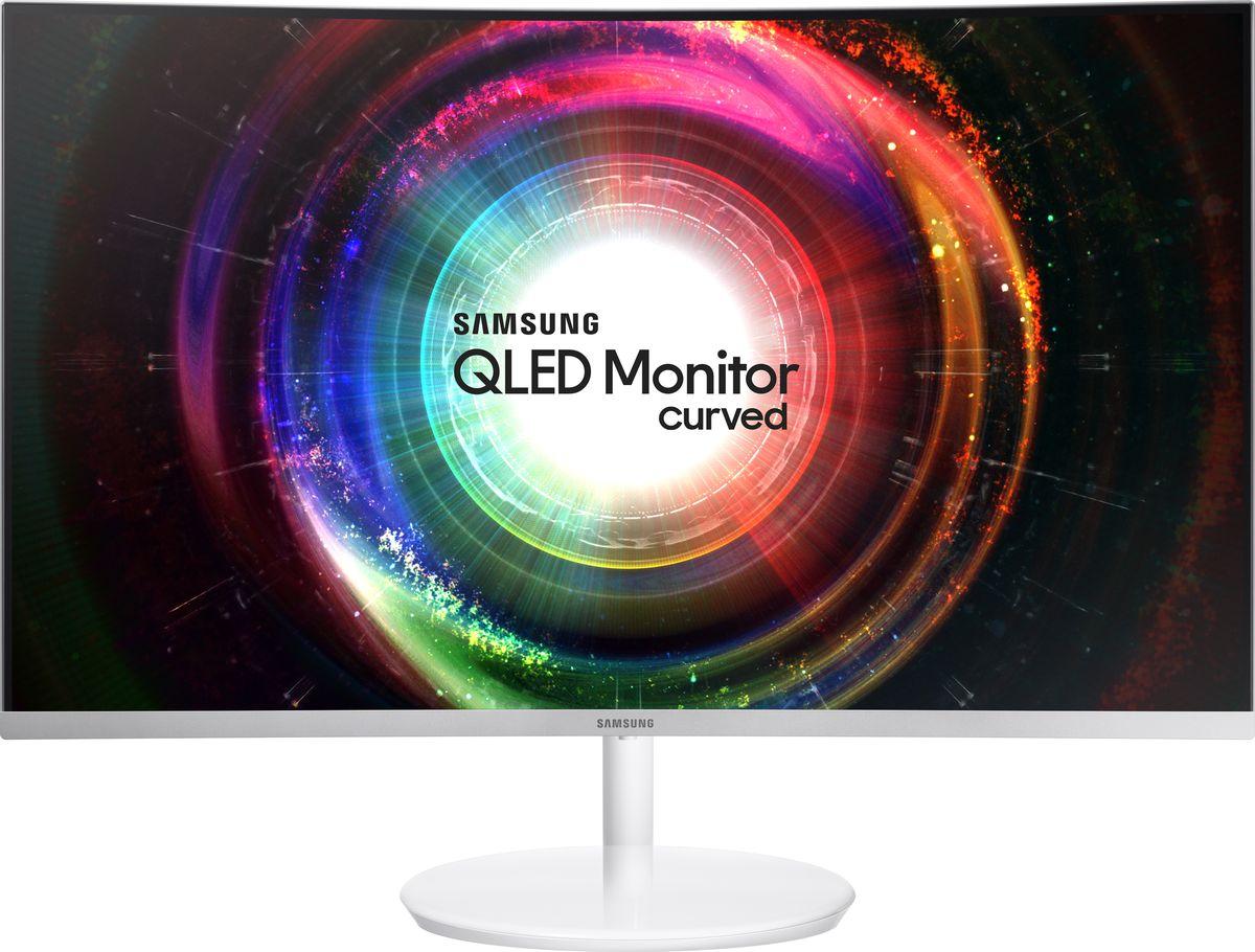 цена на Монитор Samsung LC27H711QEI, White