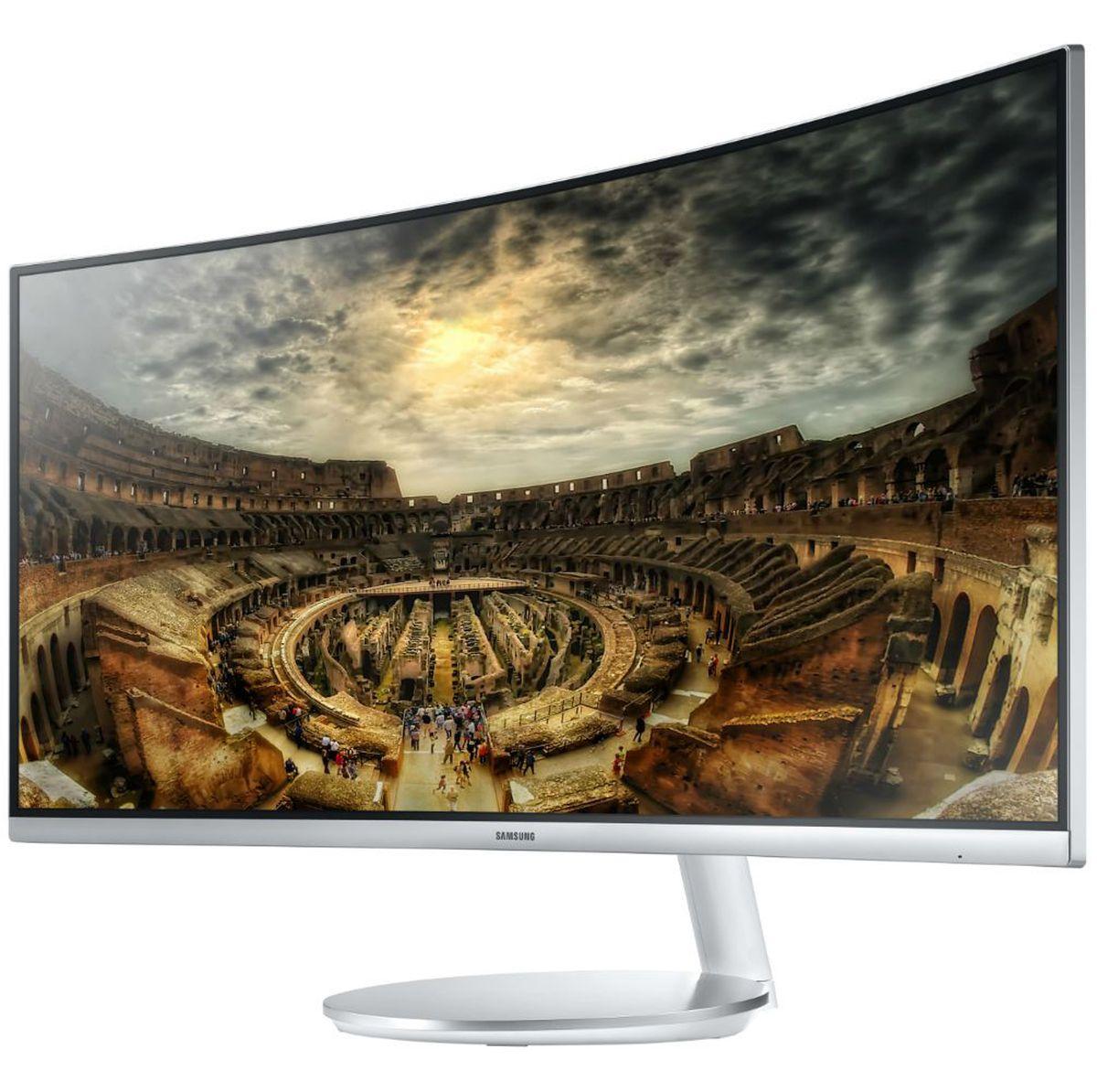 Монитор Samsung LC34F791WQI, White цена