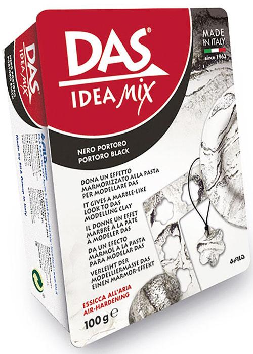Das Масса для моделирования Idea Mix цвет Portoro Black 100 г