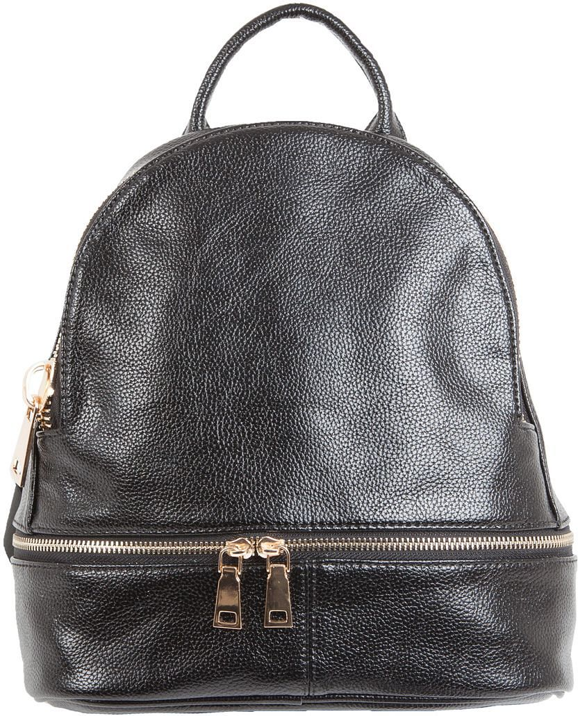 Рюкзак женский Flioraj, цвет: черный. 2136 рюкзак женский flioraj цвет серый 9806 1605 106