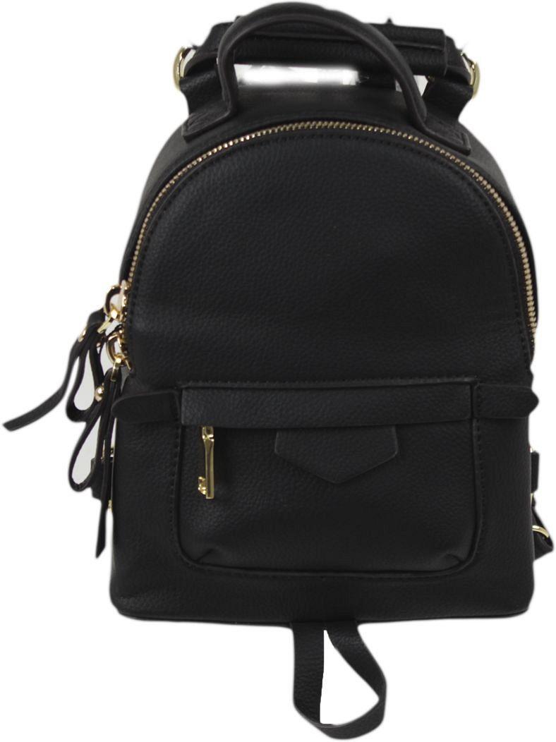 Рюкзак женский Flioraj, цвет: черный. 101610158 рюкзак женский flioraj цвет серый 9806 1605 106