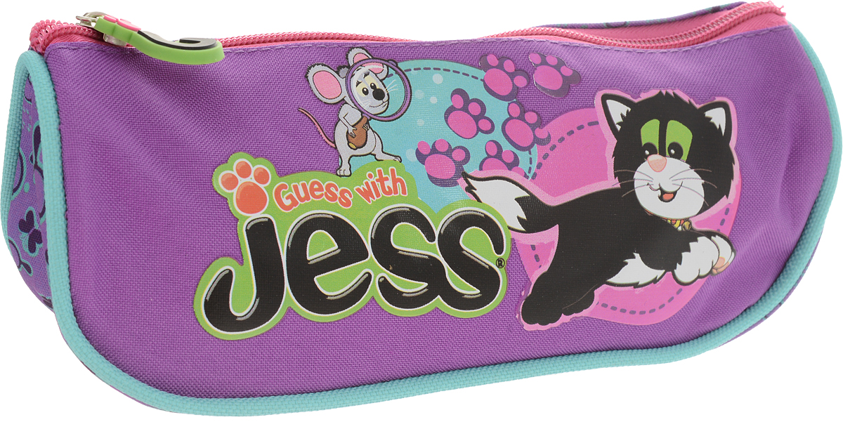 Guess with Jess Пенал цвет фиолетовый jess