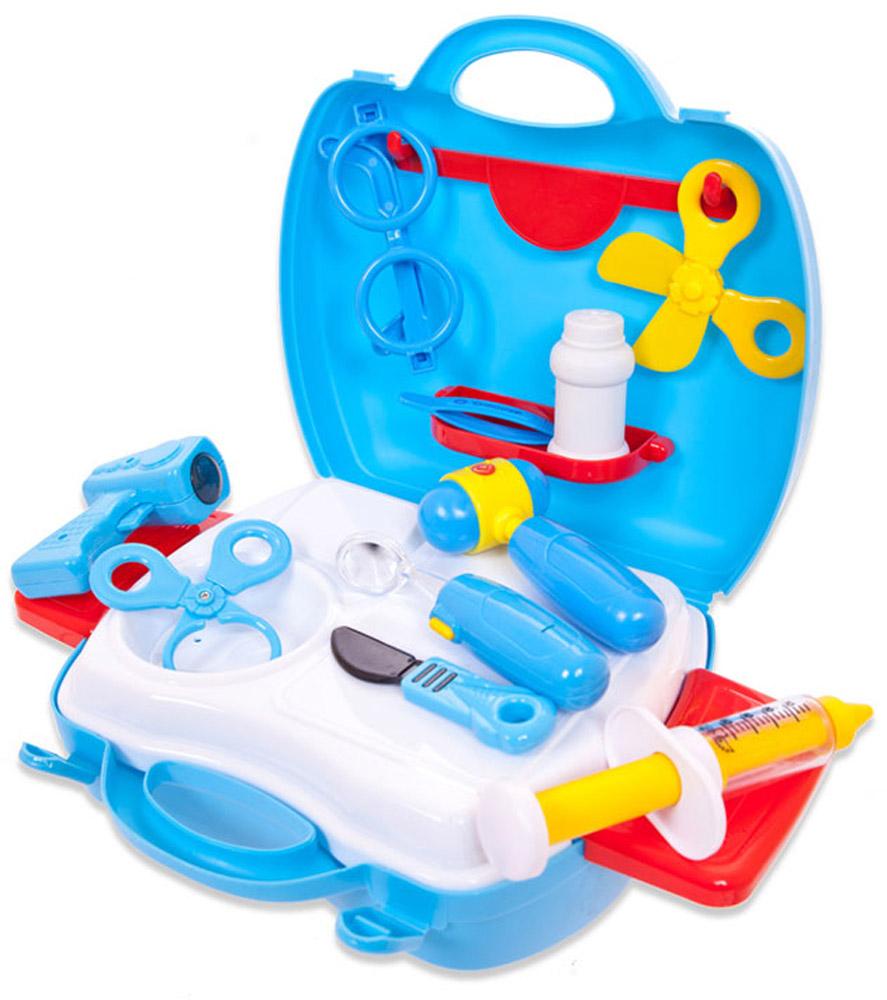 ABtoys Игровой набор Чудо-чемоданчик Доктор 18 предметов