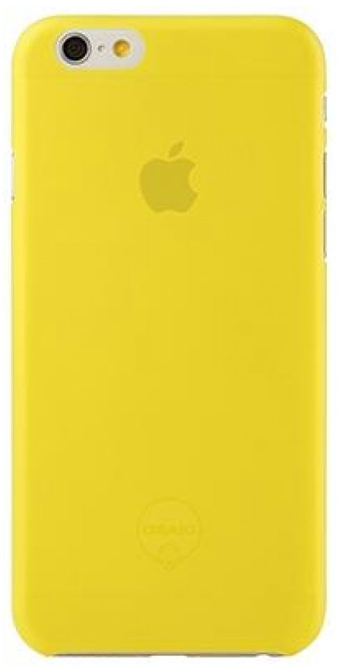 Ozaki O!coat 0.3 Jelly чехол для iPhone 6, Yellow ozaki o tool battery d26 ot240wh white