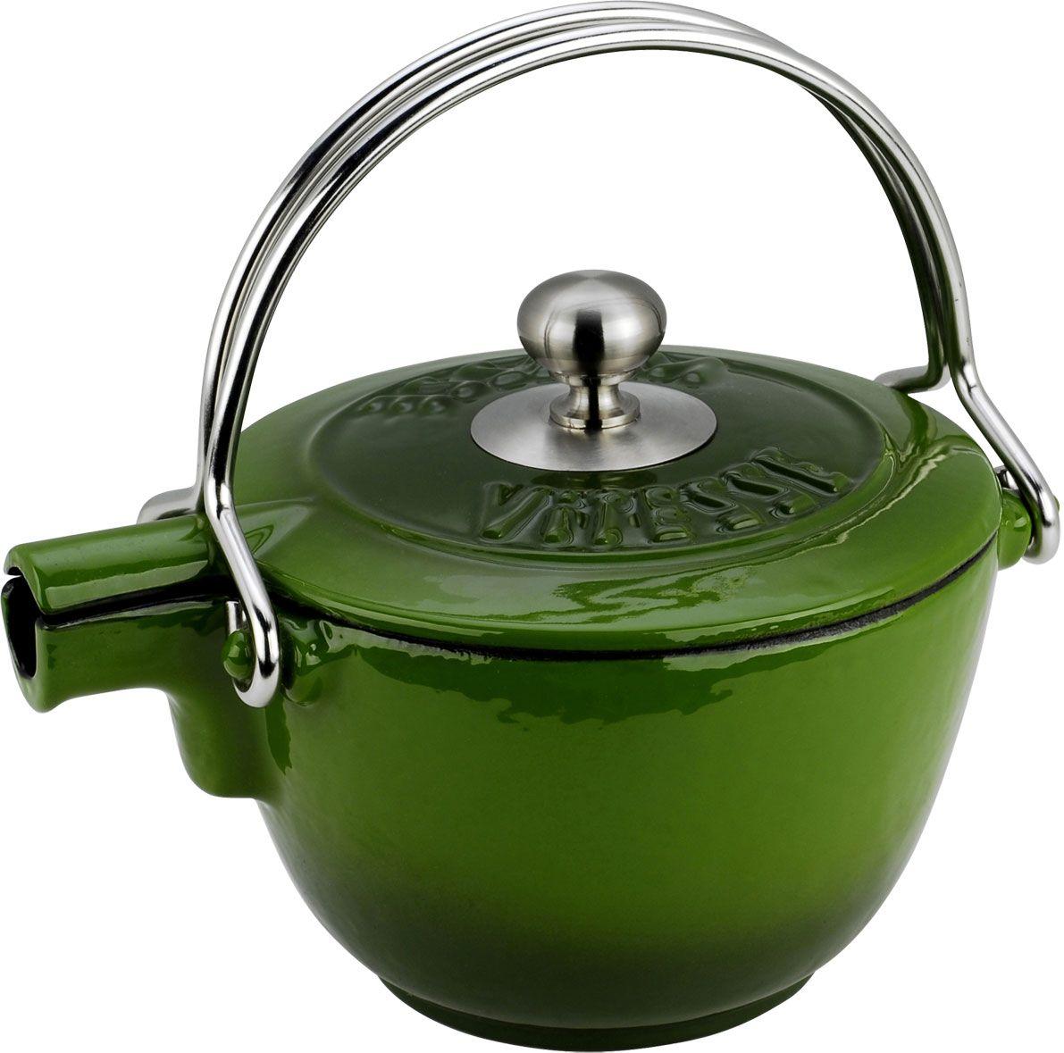 Чайник заварочный Vitesse Ferro, с ситечком, цвет: зеленый, 1,15 л vitesse ferro