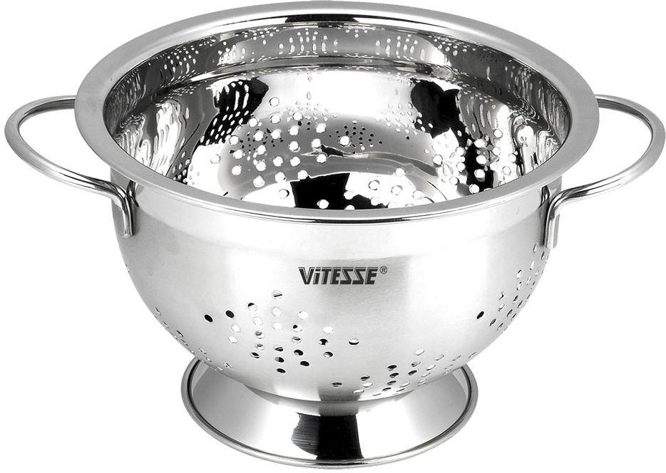 Дуршлаг Vitesse, диаметр 18 см. VS-2800 дуршлаг vitesse