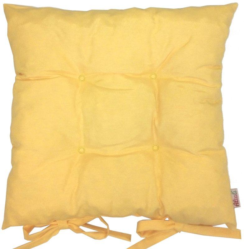Подушка на стул Altali Лючия, желтый подушки на стул altali подушка на стул с рисунком марселла лайн