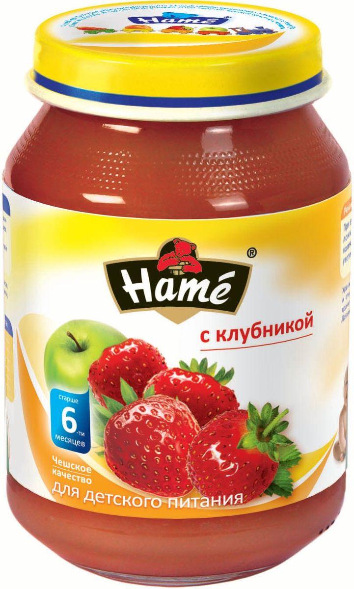 Hame клубника фруктовое пюре, 190 г