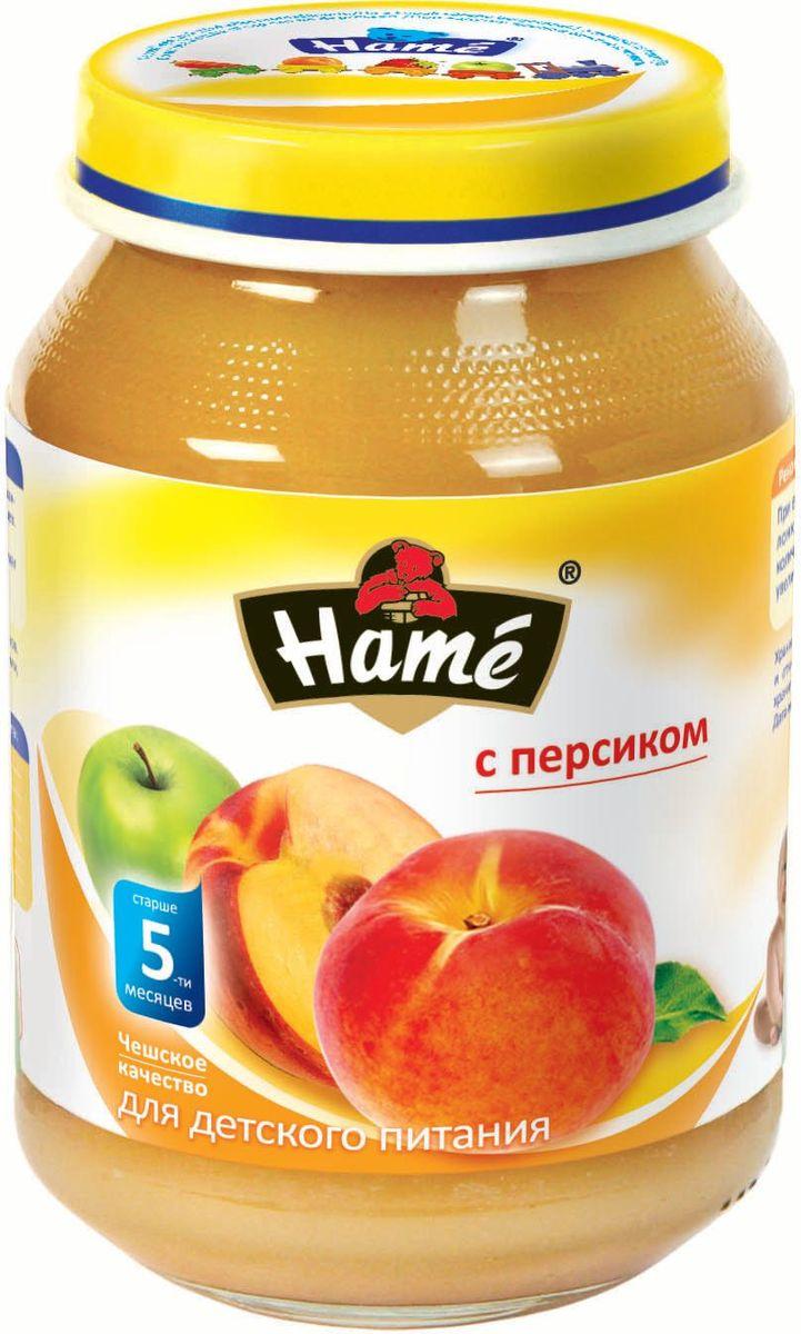 Hame персик фруктовое пюре, 190 г