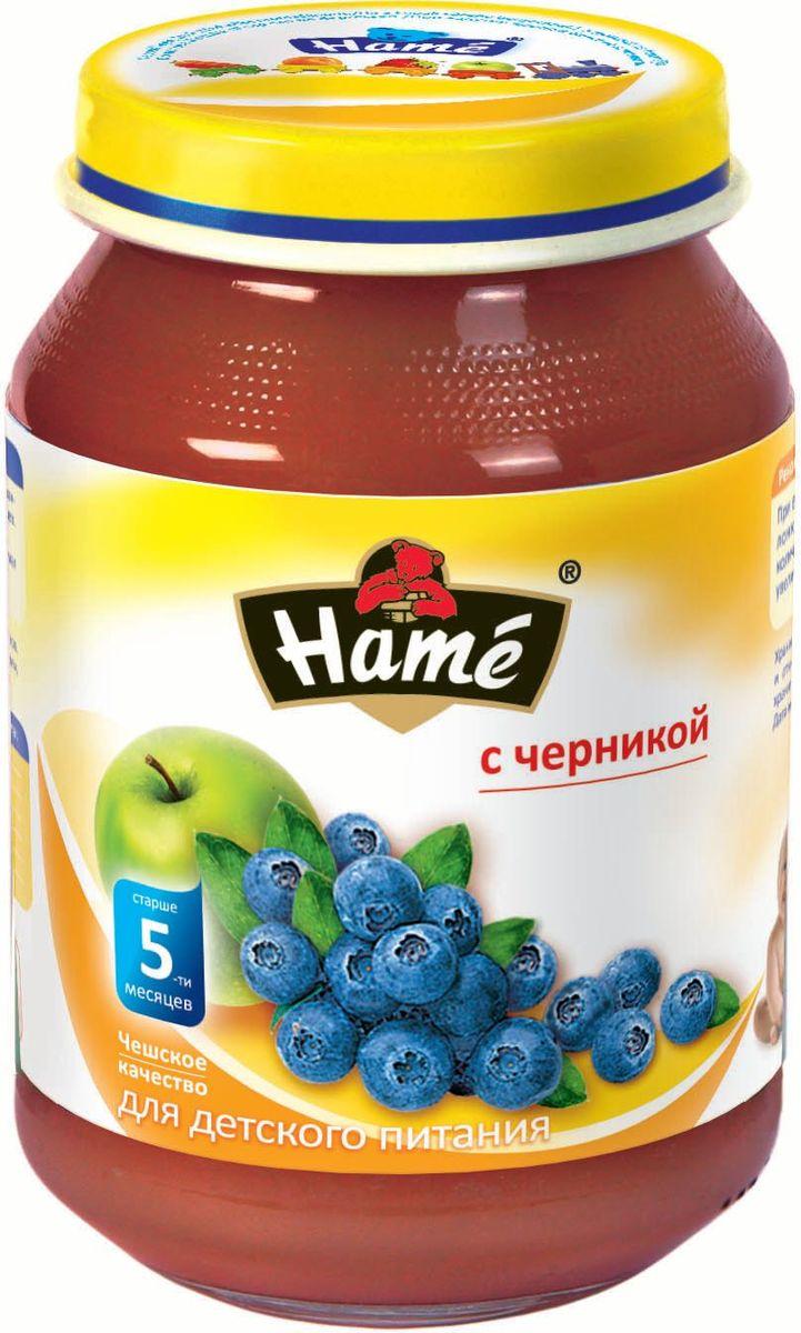 Hame черника фруктовое пюре, 190 г