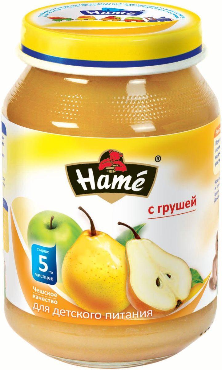Hame груша фруктовое пюре, 190 г