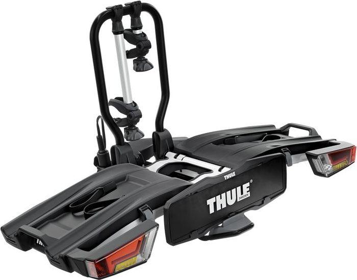"""Велобагажник на фаркоп Thule """"EasyFold XT 2B"""", для перевозки 2-х велосипедов, складывающийся, 13 pin"""