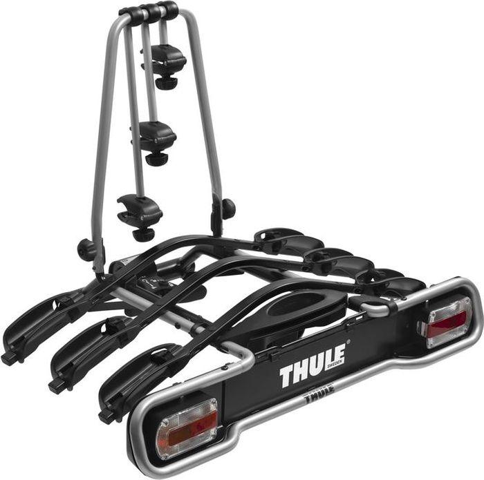 Велобагажник на фаркоп Thule EuroWay Light, для перевозки 3 велосипедов. 943 багажник для велосипеда thule