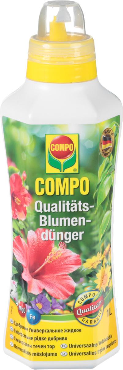 Удобрение Compo, универсальное, жидкое, 1 л удобрение для газона compo 2 кг