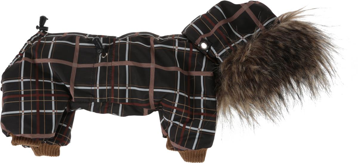 """Комбинезон для собак """"Kuzer-Moda"""", зимний, унисекс. Размер XXS"""