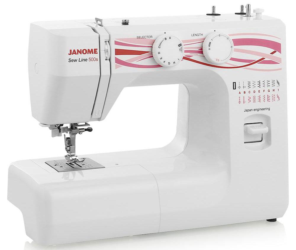 Швейная машина Janome Sew Line 500s швейная машинка janome dresscode