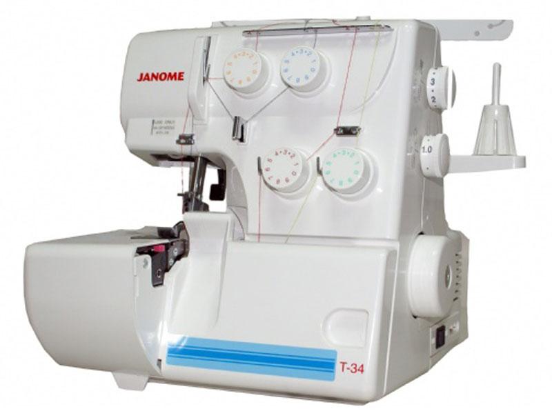 Оверлок Janome Т-34