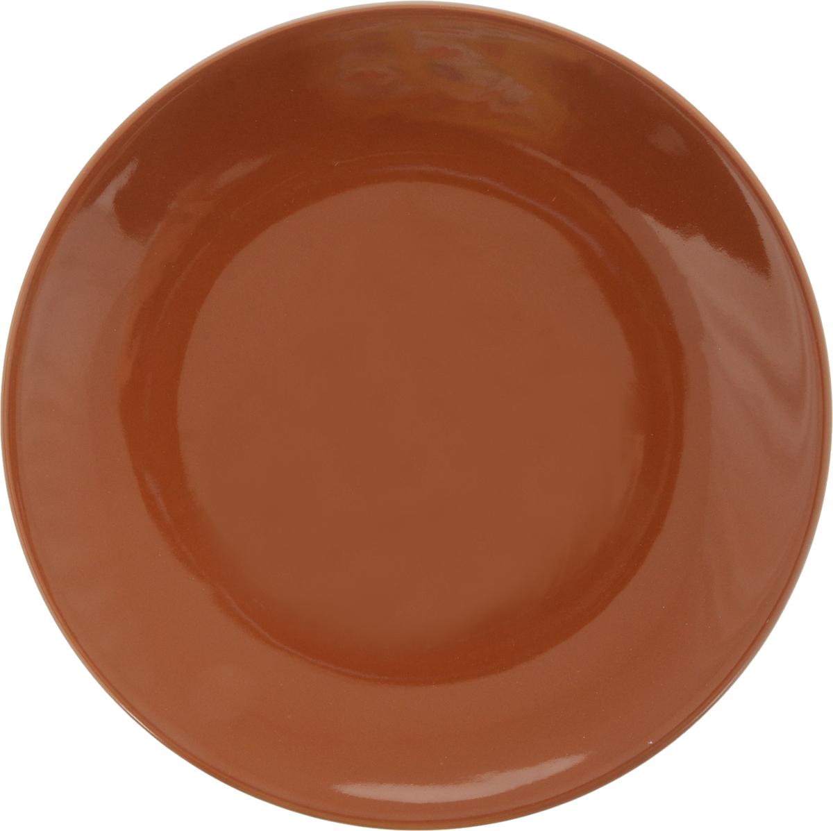 """Тарелка десертная """"Ломоносовская керамика"""", диаметр 21 см"""