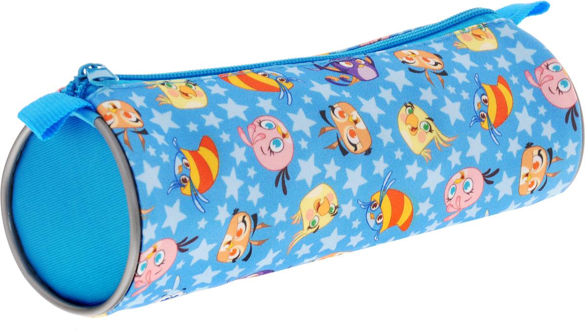 Action! Пенал-тубус Stella by Angry Birds цвет голубой action пенал тубус tatty teddy цвет розовый голубой