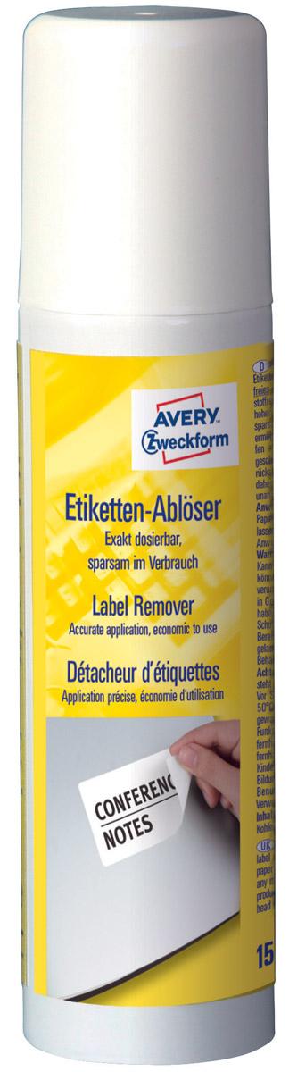 Жидкость для удаления этикеток Avery Zweckform, спрей, 150 мл жидкость для удаления этикеток avery zweckform спрей 150 мл
