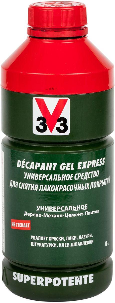 """Средство для снятия лакокрасочных покрытий """"V33"""", 1 л"""