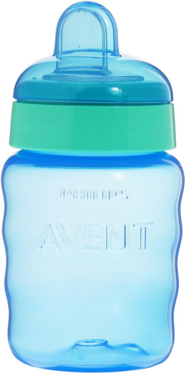Philips Avent Поильник-непроливайка Comfort от 9 месяцев цвет голубой мятный 260 мл SCF553/00 philips avent волшебная чашка непроливайка для детей от 12мес голубой scf753 00