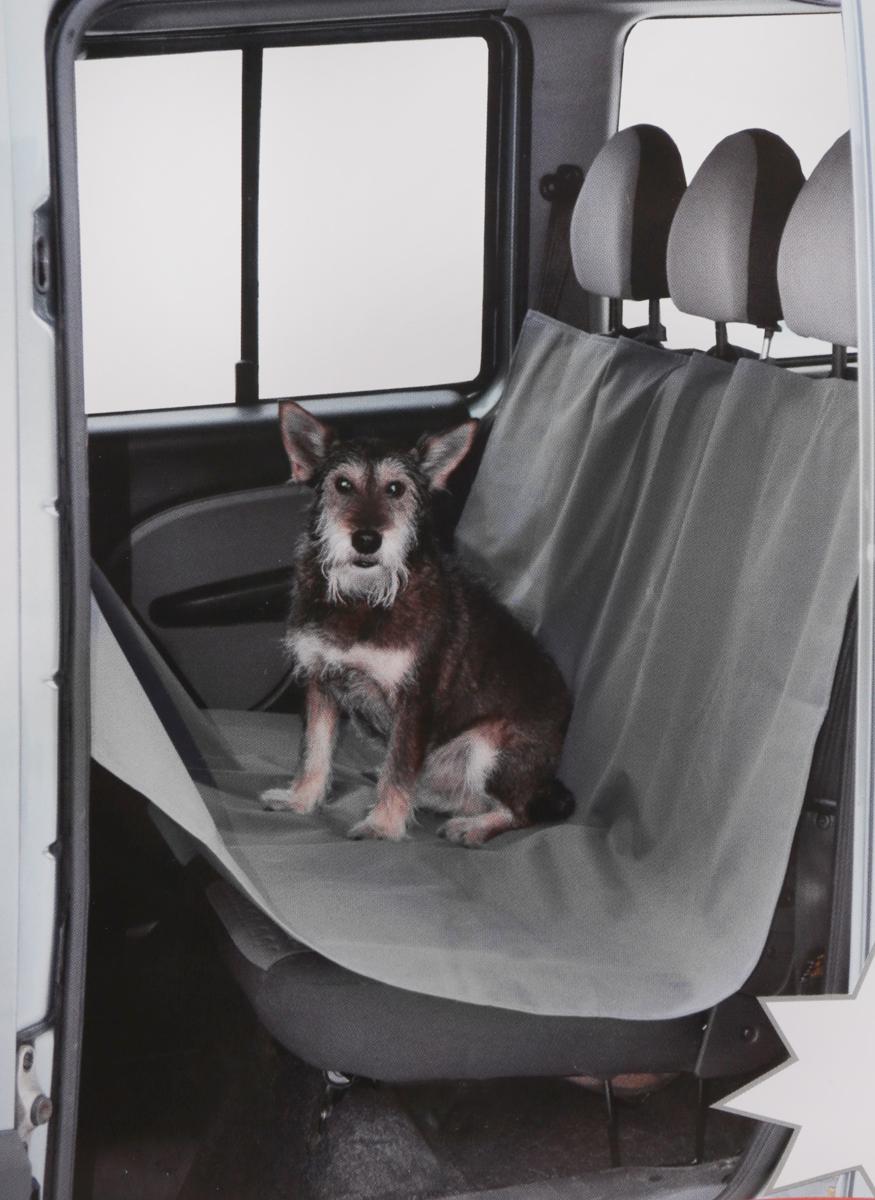 Накидка Comfort Address для перевозки собак в салоне автомобиля, цвет: серый, 150 см х 150 см. daf 021 S comfort address daf 021