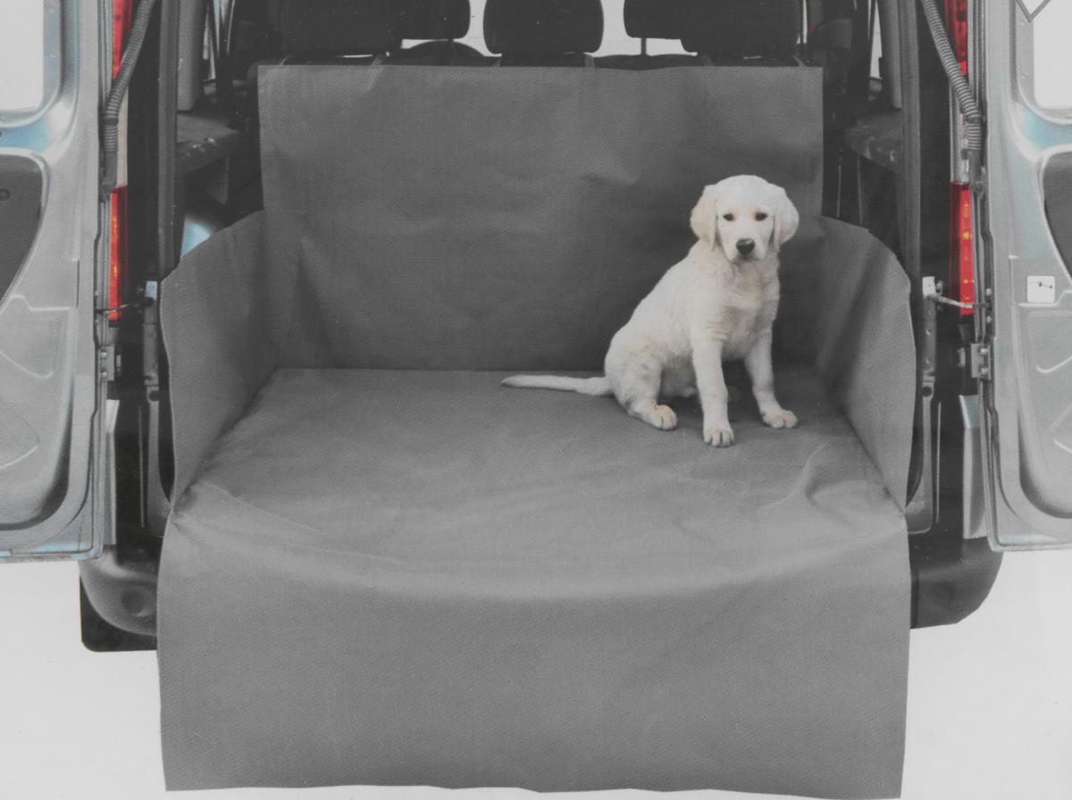 Накидка Comfort Address для перевозки собак в багажнике автомобиля, серый, 120 х 150 х 70 см comfort address daf 021