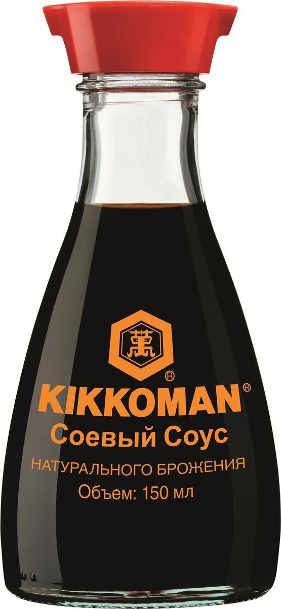 Kikkoman соус соевый, 150 мл (диспенсер) kikkoman барбекю