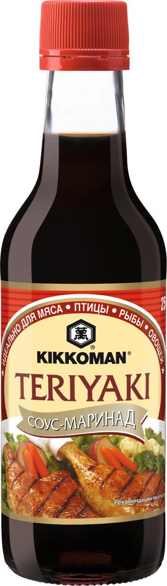 Kikkoman соус-маринад Teriyaki, 250 мл цена и фото