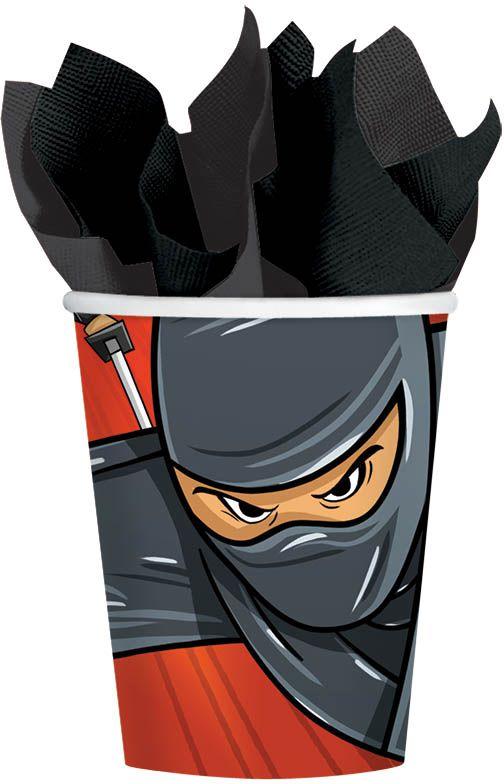 Amscan Стакан Ninja 270 мл 8 шт