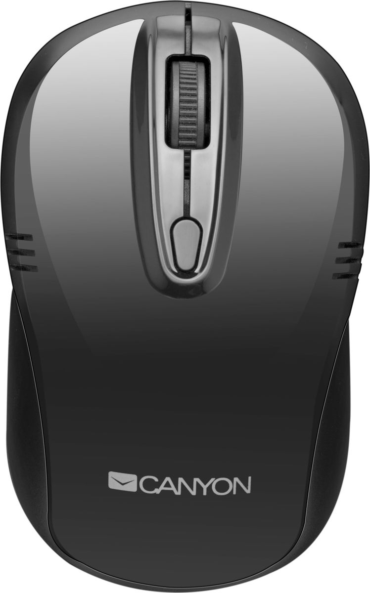 Мышь Canyon CNE-CMSW02, Black беспроводная